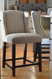 Slipcovered Counter Stools. Best Bar Stool With ...