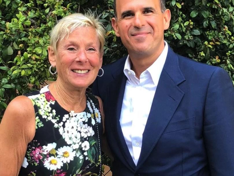 Bobbi Raffel and Marcus Lemonis