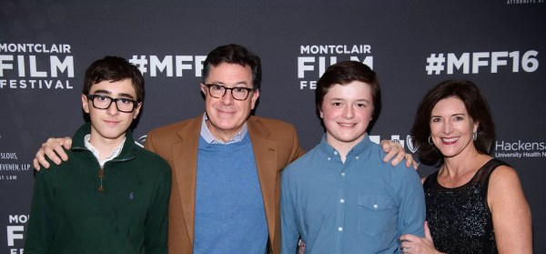 Stephen Colbert And His Family - Year of Clean Water