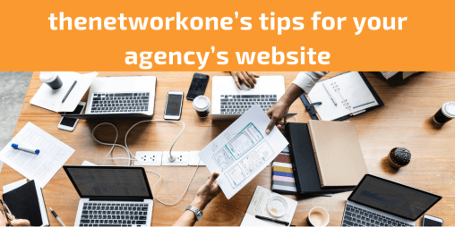 thenetworkone's tips for youragency's website.png