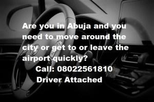 Abuja car service