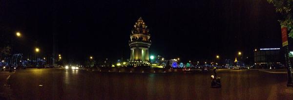 Phnom Penh, Cambodia at nigh