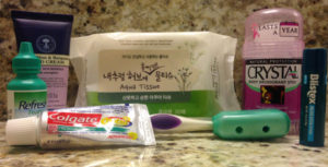 Carry-on Essentials: Toiletries
