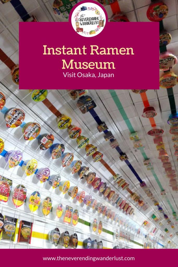 Ramen Museum in Osaka, Japan