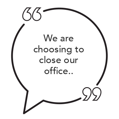 How to Communicate with Patients About Office Closures