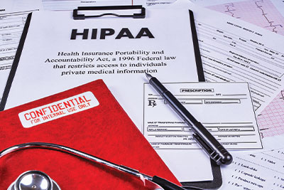 Vaccine Push HIPAA medical questions front porch