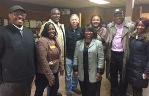 A business walk with the EOCC and the mayor of East Orange NJ.