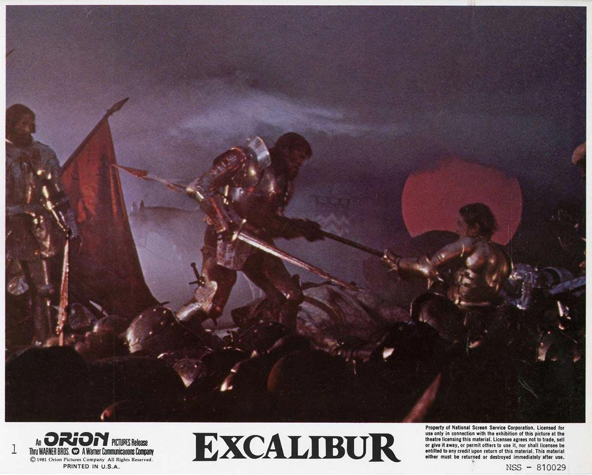 Risultati immagini per excalibur film