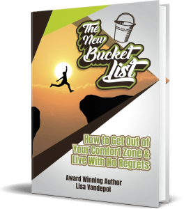 3d book cover The New Bucket List
