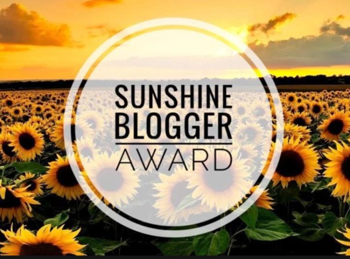 Sunshine Blogger Award #1