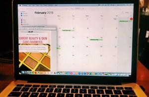 Using Apple Calendar to plan blog and social posts