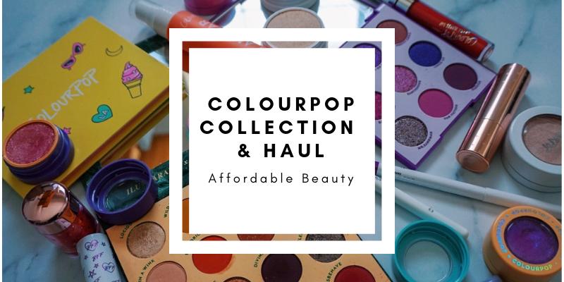 huge ColourPop Cosmetics Haul 2018