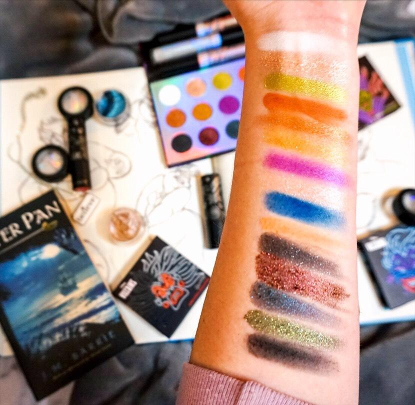 ColourPop x Disney Villains Collection Review :: Misunderstood Eyeshadow Palette Swatches