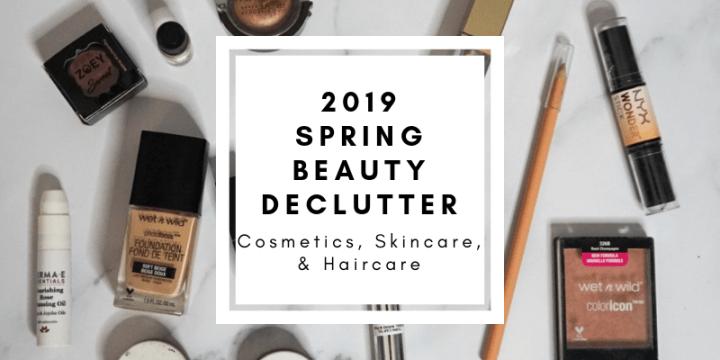 Massive Mid-Year Beauty Declutter | Spring Beauty Declutter