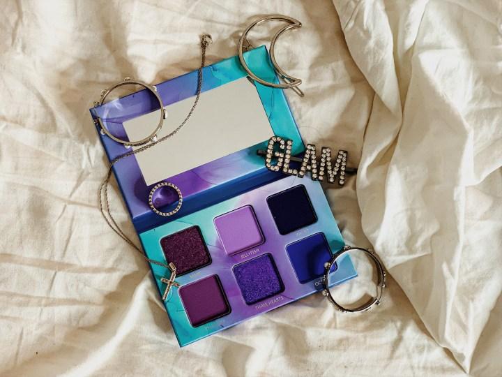 Massive Luxury Beauty Haul - Menagerie Cosmetics Violet Ink Micro Palette