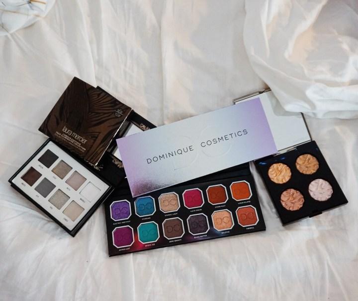 Yearlong Beauty Low Buy - Lime Crime Venus Immortals, Dominque Cosmetics Celestial Storm, Laura Mercier L'Exotic Highlighter Palette