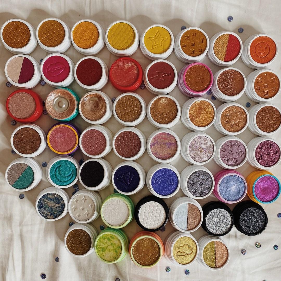 ColourPop Super Shock Shadow Collection
