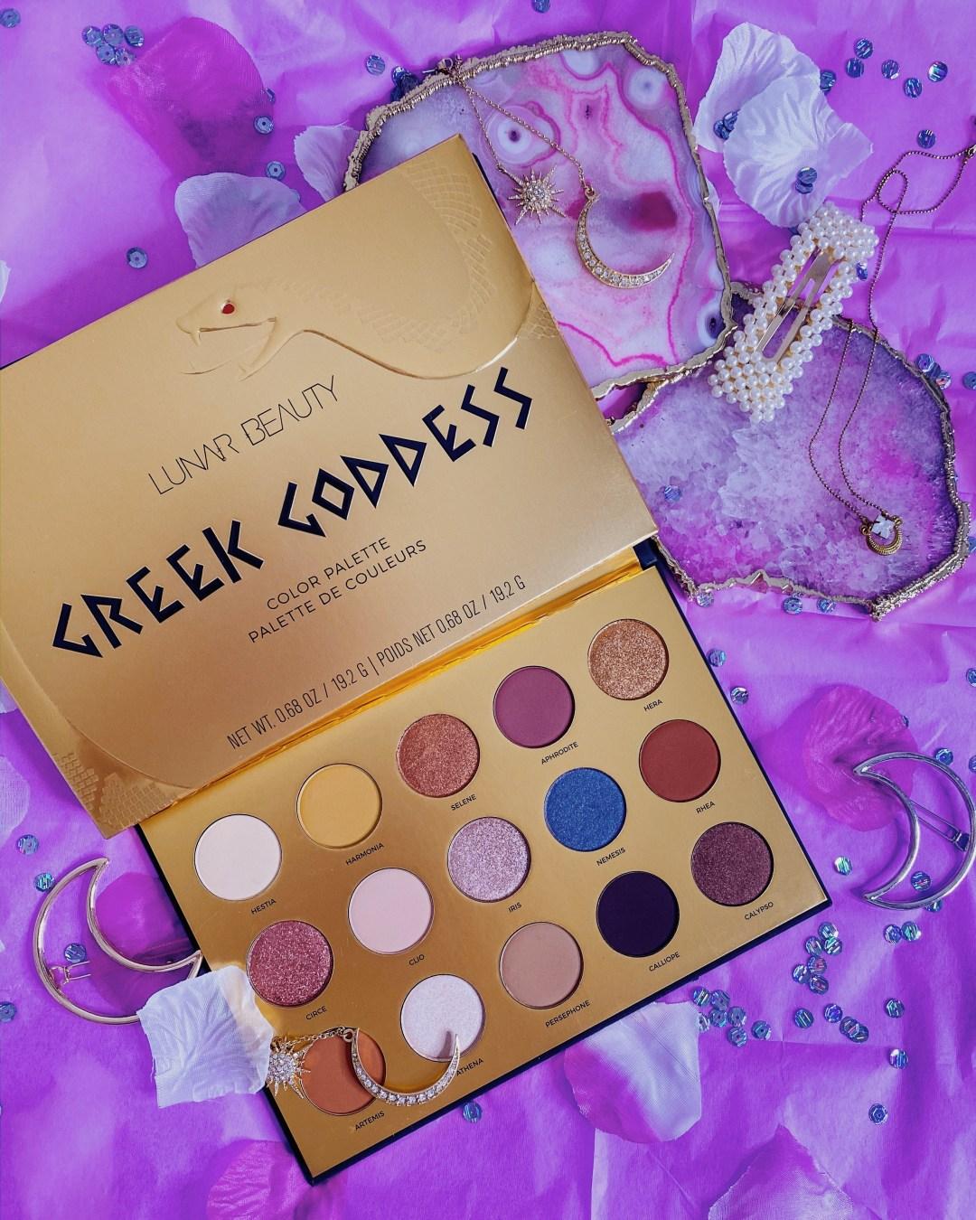 2020 Beauty Low Buy Update #1 | Lunar Beauty Greek Goddess Palette