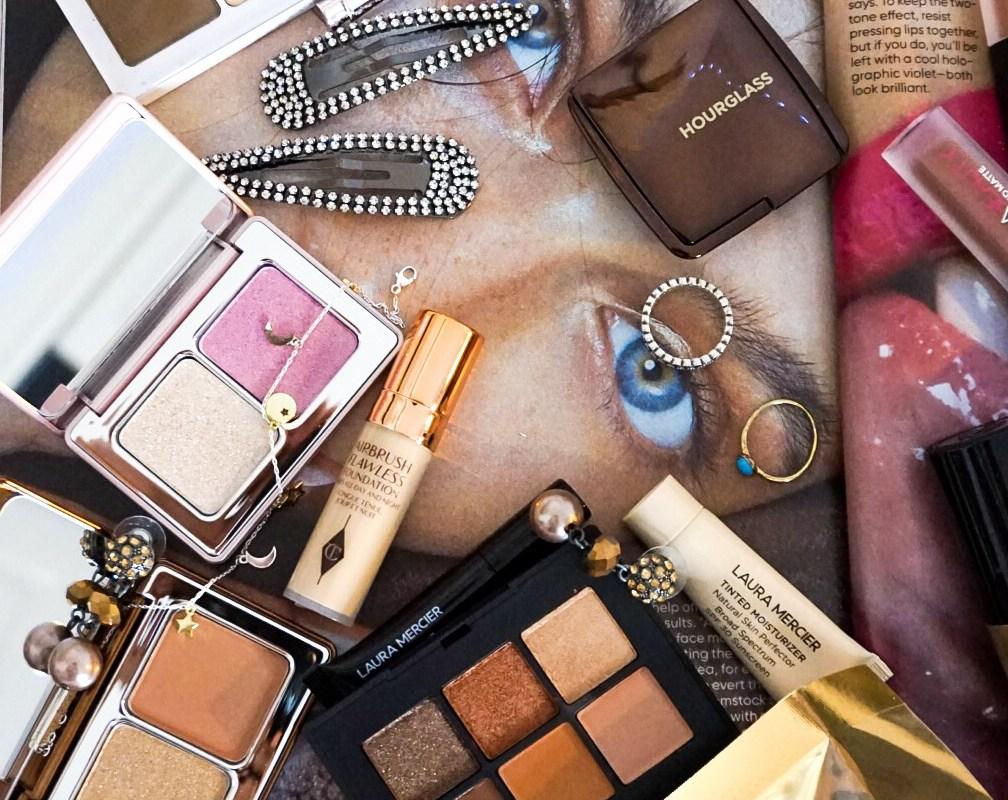 Diary of a Beauty Addict Tag | Luxury Sephora Haul | Natasha Denona, Hourglass, NARS, Pat McGrath. Too Faced, Huda Beauty