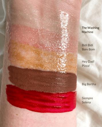 MAC Cosmetics x Selena La Reina Lip Glass & Retro Matte Liquid Lipstick