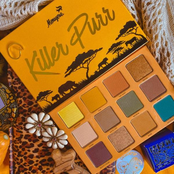 Menagerie Cosmetics Killer Purr Palette Review