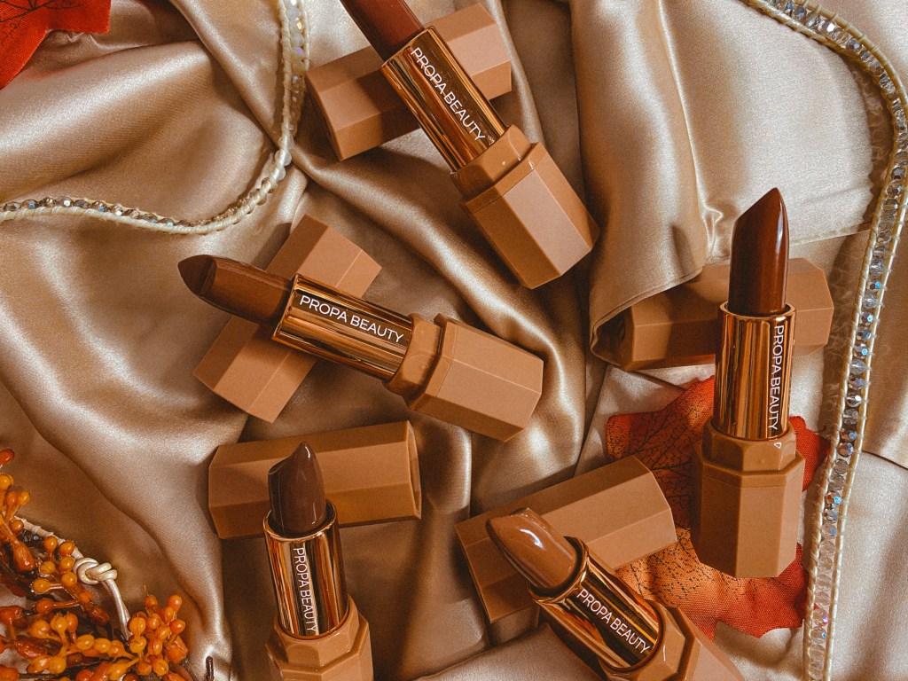 Propa Beauty #POWERPOUTS Luminous Satin Lipsticks