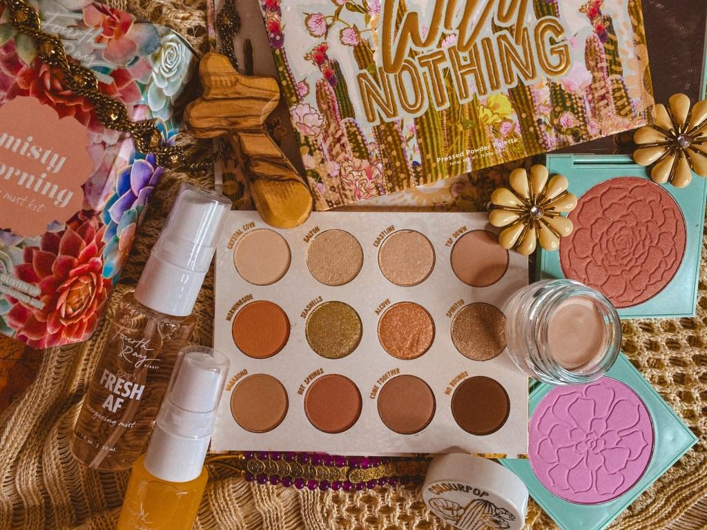 ColourPop Wild Nothing Palette Swatches on Fair Skin | ColourPop Vegan Eyeshadow Palette | Affordable Vegan Eyeshadow Palette