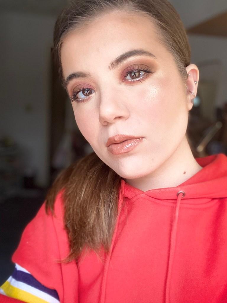 a full face of Persona Cosmetics | Cali Glow Highlighters in Zuma & Laguna
