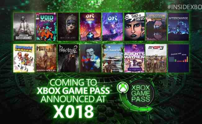 All The News From Inside Xbox 2018 From Mexico The New Byte