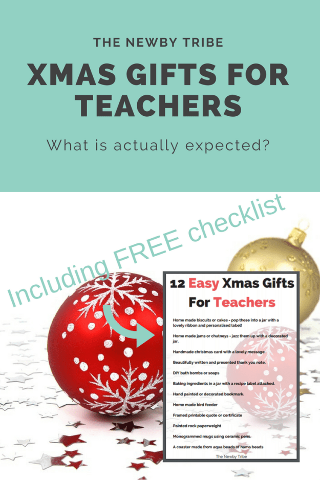 Wondering what on earth to do for a christmas gift for a teacher this year? Not sure what's expected? Click through to find out the TRUTH from a headteacher as well as download a FREE list of great, easy christmas gift ideas.