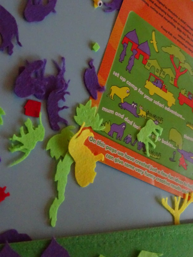 The Newby Tribe review the classic children's toy, Fuzzy Felt.