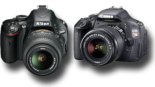 Canon 600D vs Nikon D5100 « NEW CAMERA