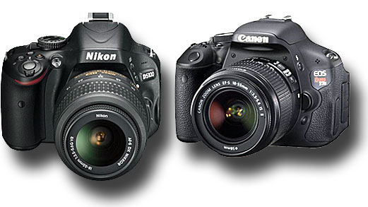 Canon 600D vs Nikon D5100 « NEW CAMERA
