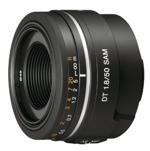 sony 50mm F1.8 Portrait Lens for Sony A77