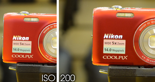 Nikon D3 vs Nikon D4 High ISO test