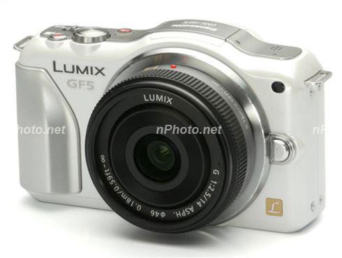 Panasonic GF5 white