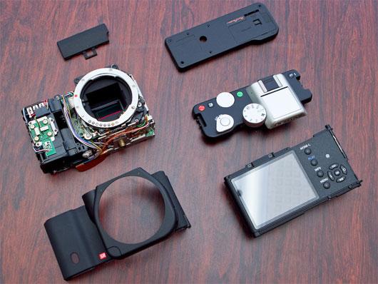 Pentax K-01 camera