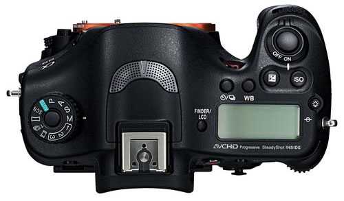 Sony A99 Top