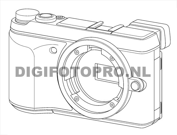 Panasonic GX7 Sketches Surfaced, Coming on August « NEW CAMERA