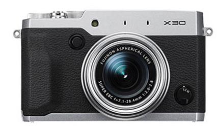 Fuji-X30-front-image