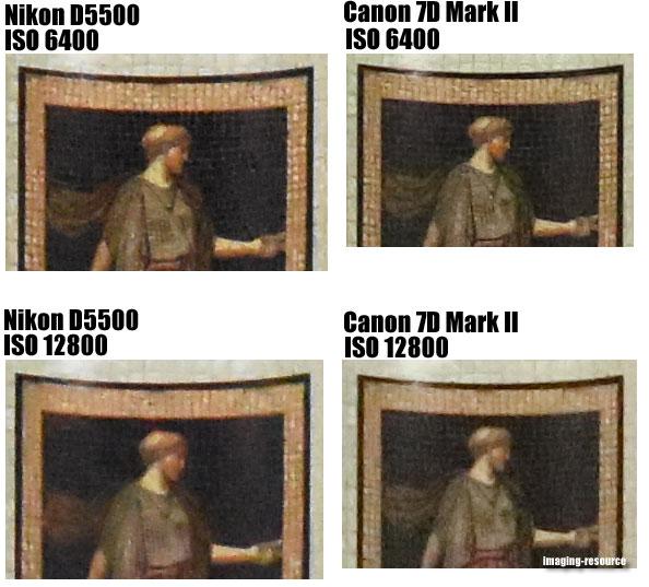 Nikon D5500 vs. Canon 7D Mark II
