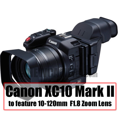 Canon Patent F2 8 10-120mm Lens for Cinema Compact Camera