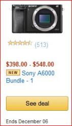 Sony A6000 discount image
