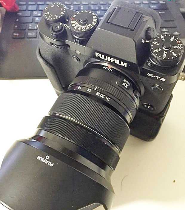 how to download firmware to fuji xt2