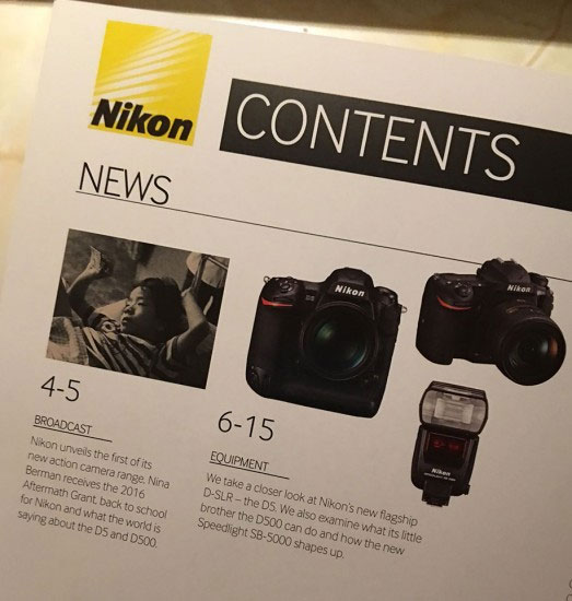 Nikon D5 firmware update coming