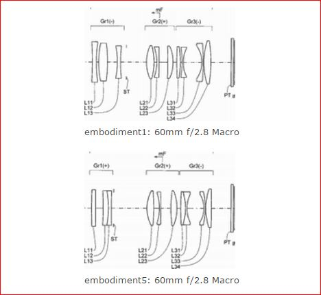 Konica Minolta 60mm F2.8 Macro Lens Patent « NEW CAMERA