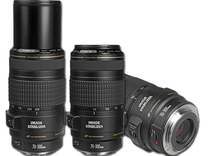 Canon 70-300mm lens image