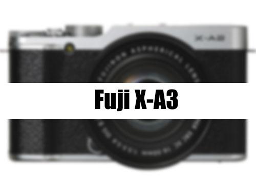 Fuji X-A3 coming soon image