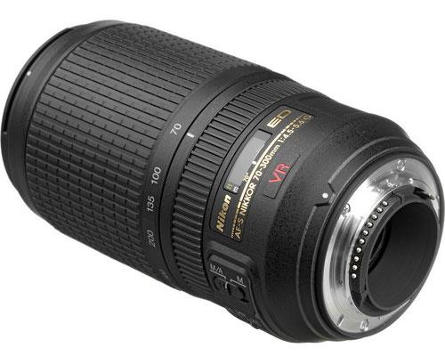 Nikon 70-300mm lens image