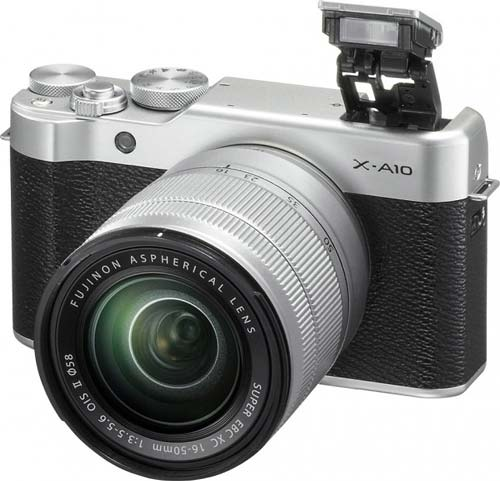 image of Fuji X-A10 leaked